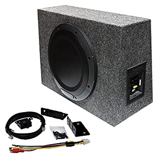 """Pioneer TS-WX1010A 10"""" Sealed enclosure active subwoofer with built-in amplifier (B0794YHK5M) 