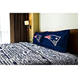 NFL New England Patriots Sheet Set Anthem Twin Bed