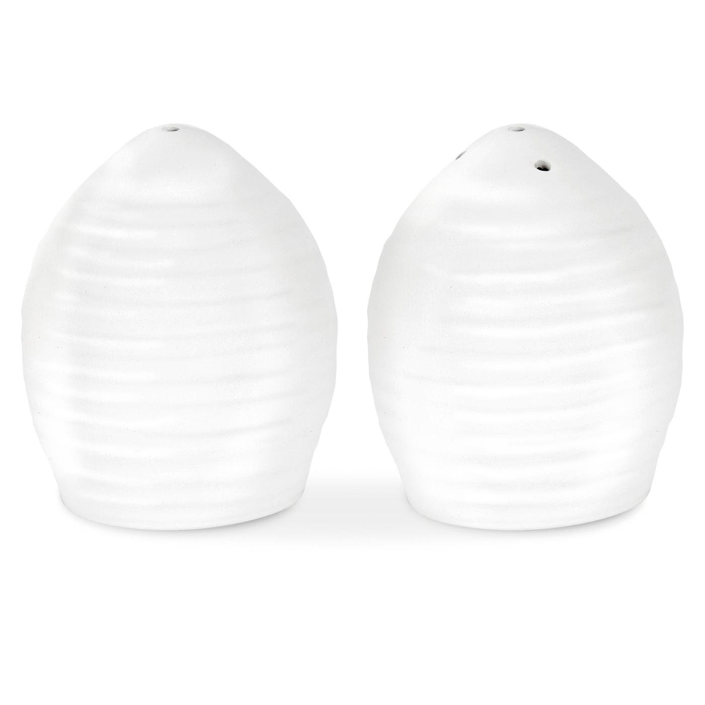 Portmeirion Sophie Conran White Salt and Pepper Set Portmeirion USA 459908