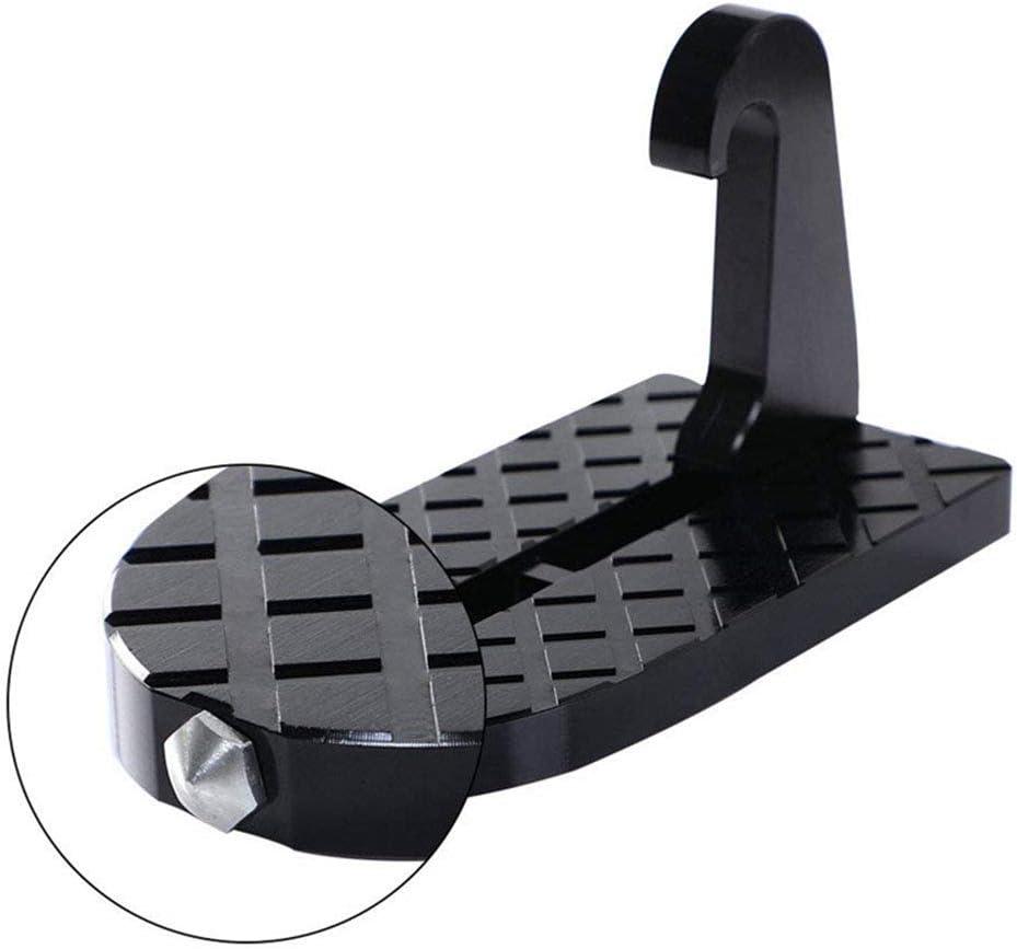 Pedal Plegable para Puerta de Coche Negro