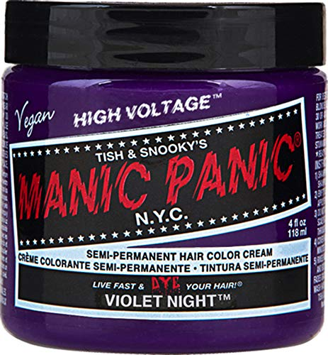 Manic Panic Violet Night Dark Purple Hair ()
