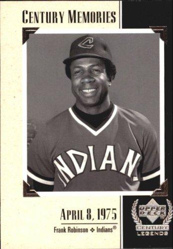 1999 Upper Deck Century Legends #135 Frank Robinson MEM MLB Baseball Trading Card from Upper Deck