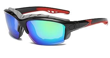 DAUCO Gafas Deportivas Polarizadas Gafas de Ciclismo Unisex- para Ciclismo Carrera Deporte Acuaticos Esqui Pesca