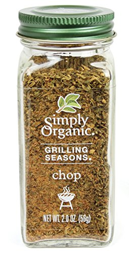 Simply Organic Grilling Seasons Chop Seasoning, 2 Ounce (Chops Pork Spice)