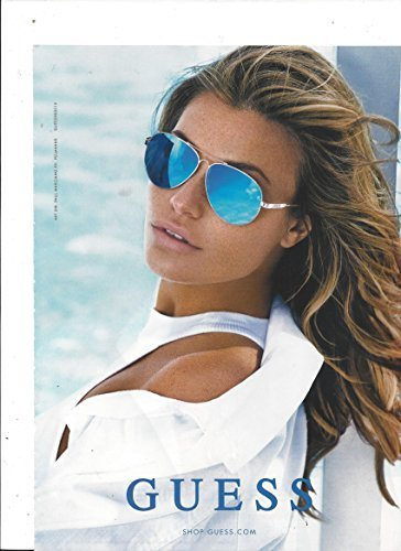 **PRINT AD** With Samantha Hoopes For 2015 Guess Eyewear **PRINT AD**