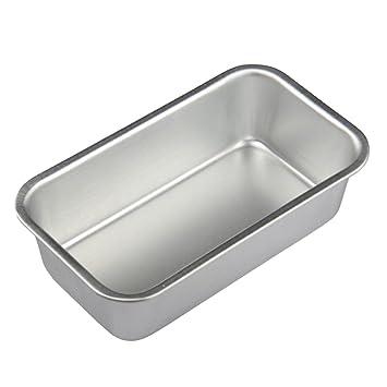 BESTONZON Molde para Pan de aleación de aluminio rectángulo para para Hornear Torta Tostada: Amazon.es: Hogar