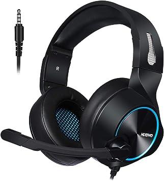 Amazon.com: JXH Auriculares con cable para juegos, tarjeta ...