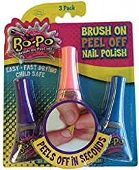 Bo-Po Nail Polish Triple Pack (3- 5.5 mL Bottles, Random Colors)