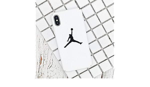 Amazon.com: 1 piece Flyman Jordan Cover Case For iPhone 7 8 ...