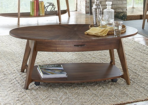 Liberty Furniture INDUSTRIES 72-OT1010 Landon Occasional Oval Cocktail Table