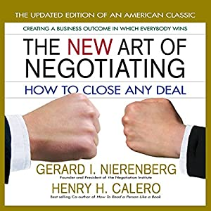 The New Art of Negotiating Audiobook