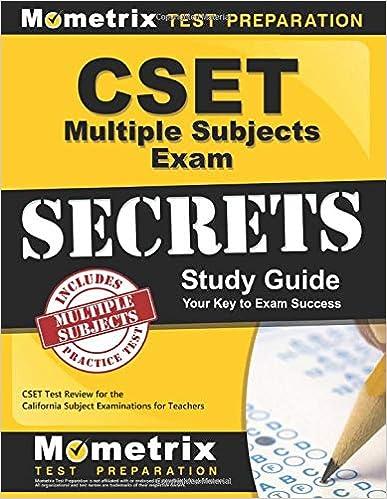 CSET Multiple Subjects Exam Secrets Study Guide: CSET Test