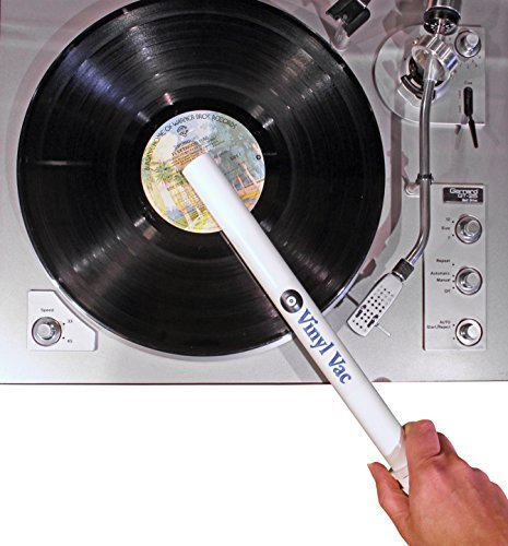 Vinyl Vac 33 - Vinyl Record Vacuum Wand (Attaches to Your Vacuum Hose) Lp Vinyl Record Cleaner