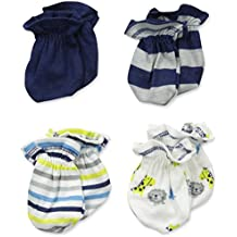 Gerber Baby Boys' 4 Pack Mittens