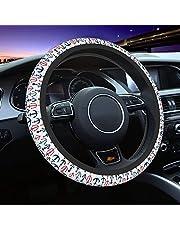 Steering Wheel Cover for Women Universal Cute Car Accessories Fit Sedans SUVs Trucks Anti Slip 15 inch