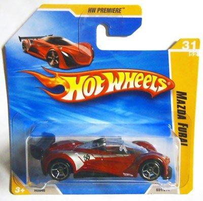 2010 Hot Wheels Red MAZDA FURAI #31/214, HW Premiere #31/52 (Short Card) (Diecast Mazda Furai compare prices)