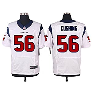 Men's Houston #56 Brian Cushing White Jersey