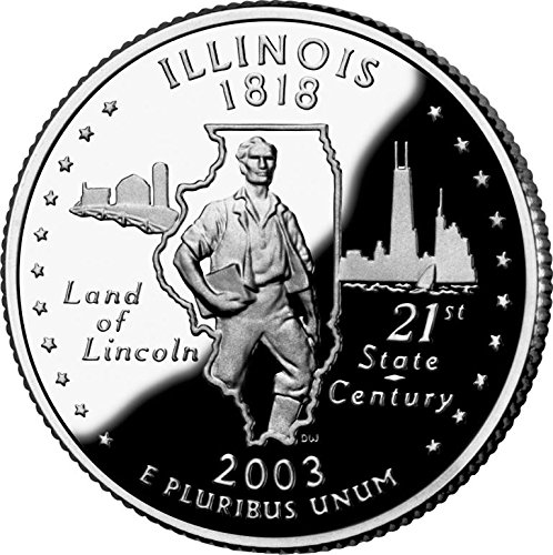 2003 Illinois – D State Quarter Roll