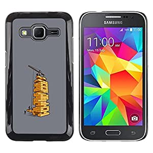 LECELL--Funda protectora / Cubierta / Piel For Samsung Galaxy Core Prime SM-G360 -- Board Game Funny Architect Engineer --