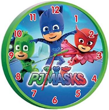 PJ Masks PJ17009 - Reloj de Pared (25 cm)