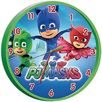PJ Masks PJ17009 PJ Masks-25cm Reloj de Pared