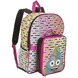 Emoji Girls' Backpack & Lunch Box