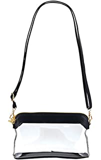 24939235dcc0 Santa Barbara Stadium Collection Clear Stadium Bag with Trim and Adjustable  Strap