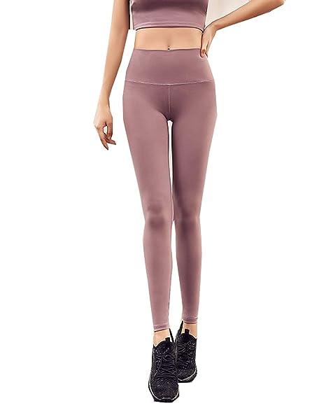 Pantalón de Yoga para Mujer Cintura Alta Ajustada, Mejora la ...