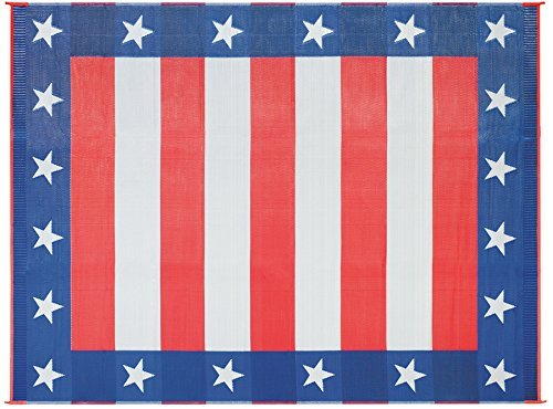 Faulkner Deluxe 49600 Multi-Purpose Independence Day Mat, 8' x 16'