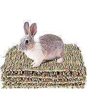 4 stuks grasmat hazen speelgoed voor het kauwen van konijnen geweven voor kleine dieren konijnen India hamster papegaai