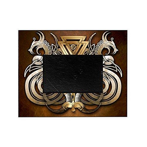 (CafePress - Norse Valknut Dragons - Decorative 8x10 Picture Frame )