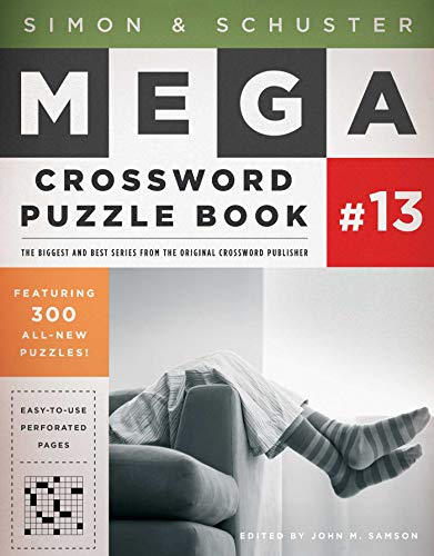 Simon & Schuster Mega Crossword Puzzle Book #13 (S&S Mega Crossword - Crossword Puzzle Facts