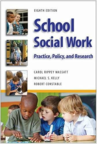 Book School Social Work: Practice, Policy, and Research by Carol Rippey Massat (2016-04-30)