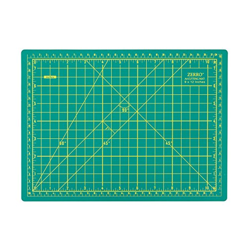 (ZERRO Self Healing Cutting Double Sided 5-Ply Rotary Mat 9