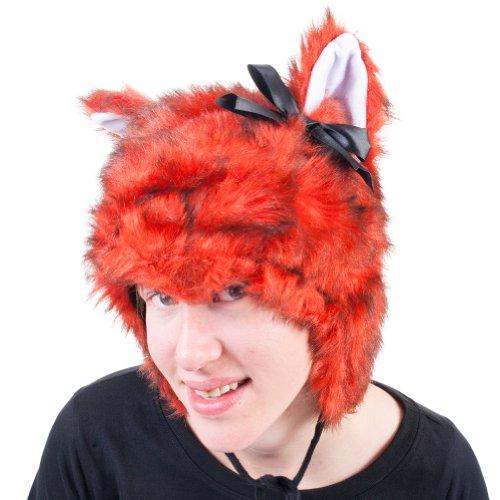 [Elope Fox Hoodie Hat] (Fox Hat Costume)