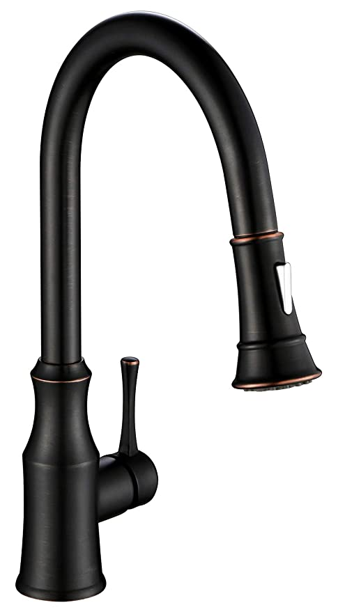 Aguastella As94orb Oil Rubbed Bronze Kitchen Faucet With Pull Down