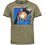 Def Leppard - Pyromania Soft Adult Ringer T-Shirt - Large