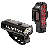LEZYNE Micro Drive 500XL and Strip 150 Light Combo Black, One Size