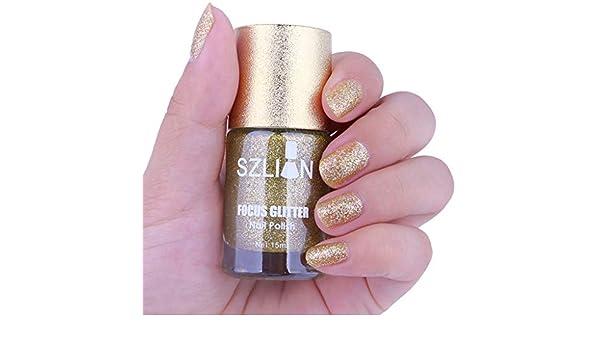 ❀ higlles esmalte de uñas, 15 ml Jinsha Gel de mate esmalte de uñas secado rápido larga duración Nail Art Esmalte de uñas Gel: Amazon.es: Belleza