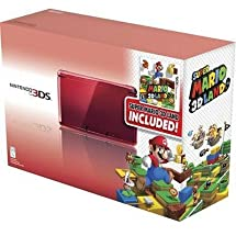 New - Flame Red 3DS w/ Mario 3D Land by Nintendo - CTRSRM31