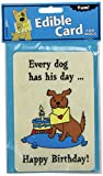 Crunchkins Edible Crunch Card, Every Dog Has It'S Day For Sale
