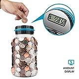 Lefree Digital Counting Money Jar,Big Piggy