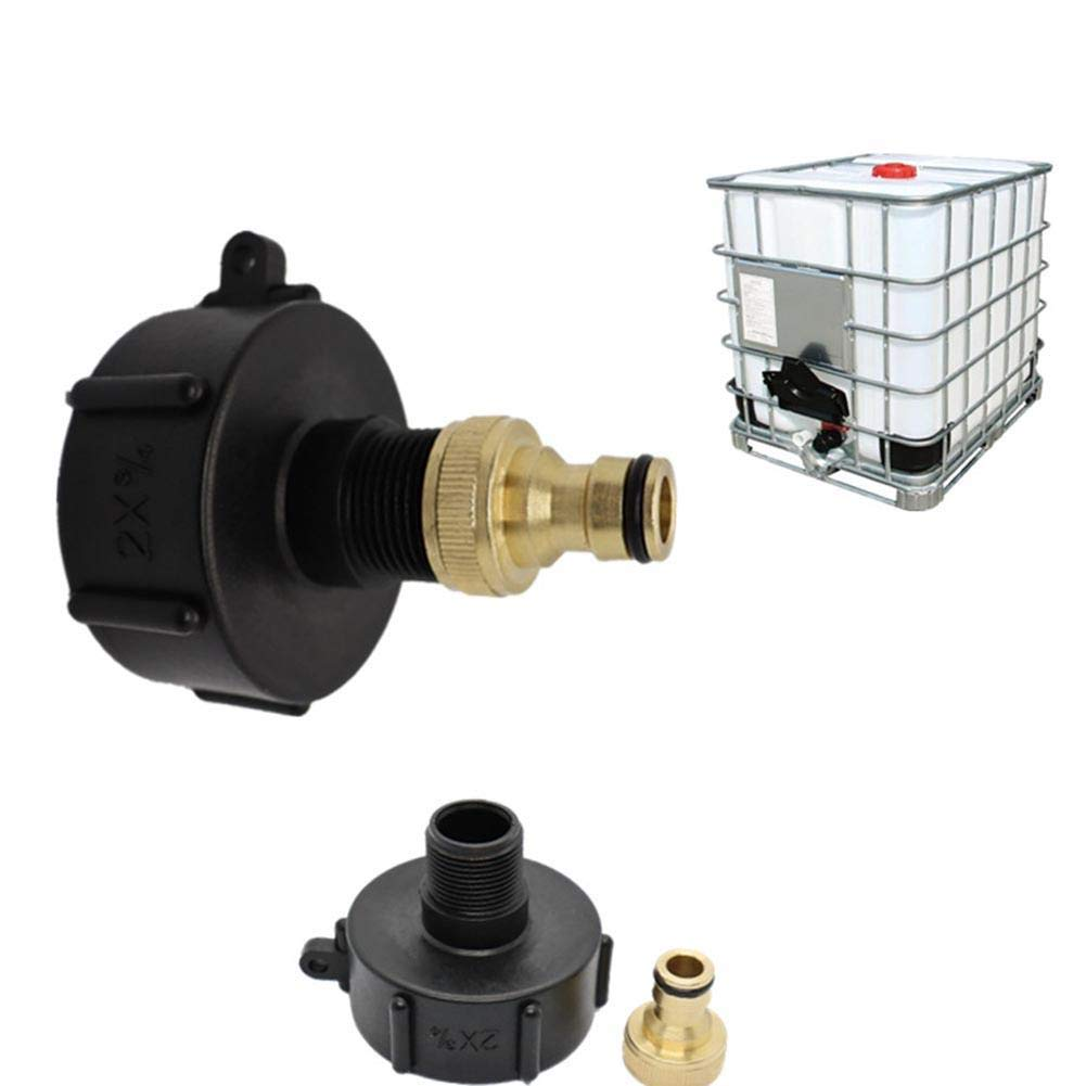 Coyan 1000 liters IBC ton Barrel Connector ton Barrel Fittings ton Barrel Brass ton Nipple 60 6 tonbarrelvalveadapter 50 Ball Valve Butterfly Nozzle for ton DN40