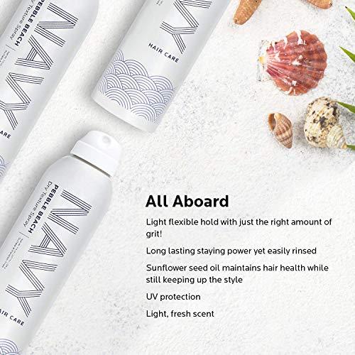 NAVY Pebble Beach Dry Texture Spray – Hair Thickener Texturizing Spray for Voluminous Locks – 7 oz