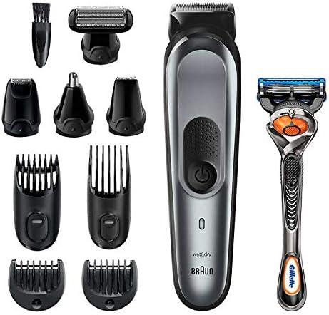 Braun MGK7221 - Recortadora de barba 10 en 1 para hombre, kit de ...