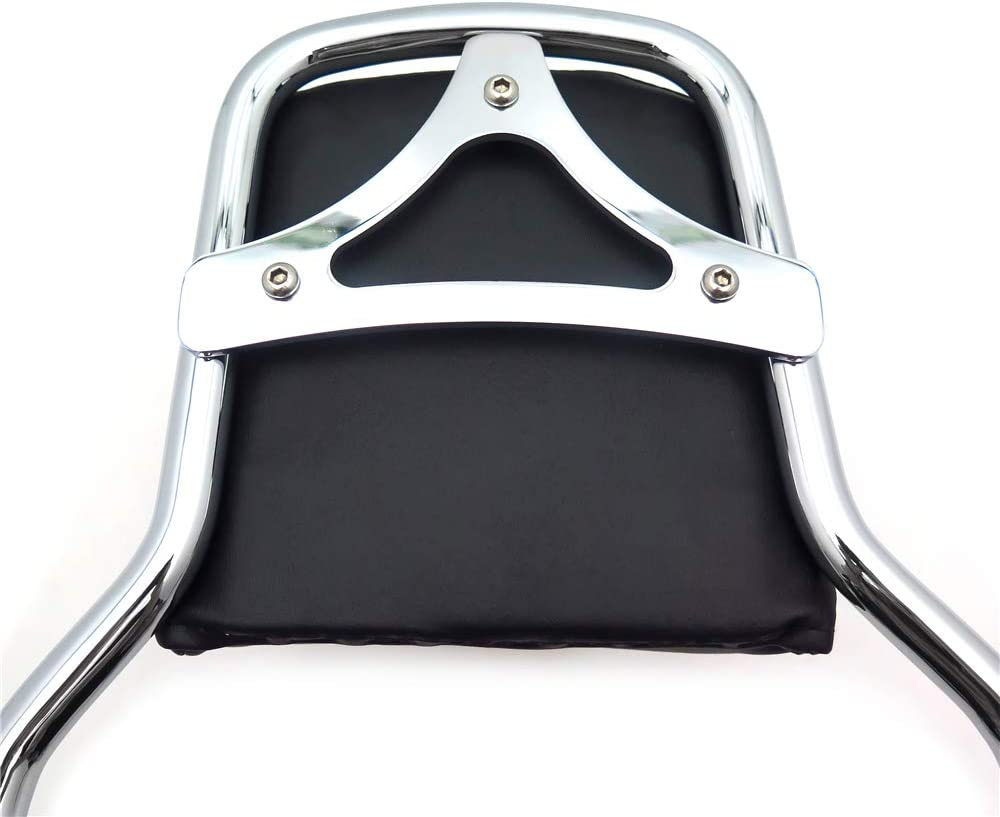 SMT Sport Luggage Rack Holdfast Upright Black Compatible With 18-20 Softail Slim Street Bob Heritage Deluxe
