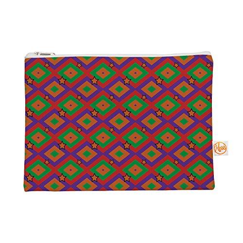 Kess eigene 12,5x 21,6cm Empire Ruhl Orange Super Stars Alles Tasche–Multicolor Geometrische