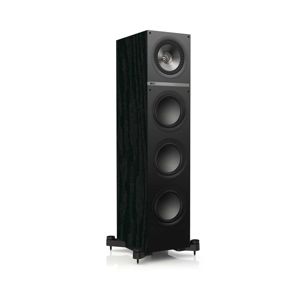 KEF Q700 Floorstanding Loudspeaker - Black Ash (Single) by KEF