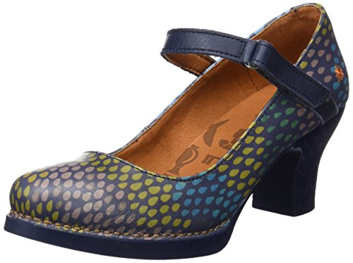 Blue Fantasy Women's Heel Drops Art shoes Harlem 8InqqC