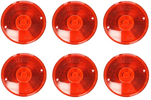- Peterson Manufacturing 42015 Red Replacement Lens (6)